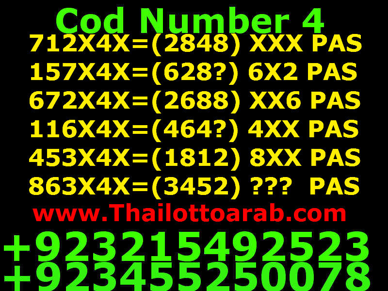 Thai Lotto VIP0055