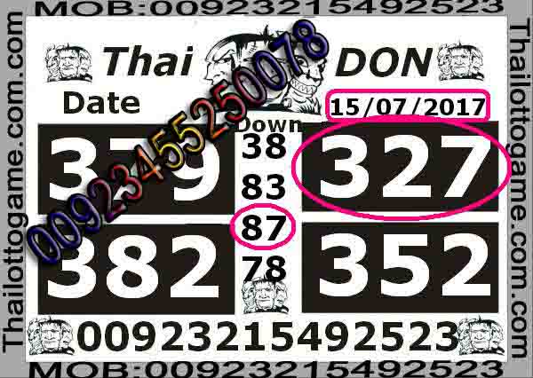 Thai Lotto VIP0063