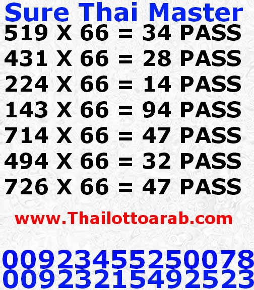 Thai Lotto VIP0068