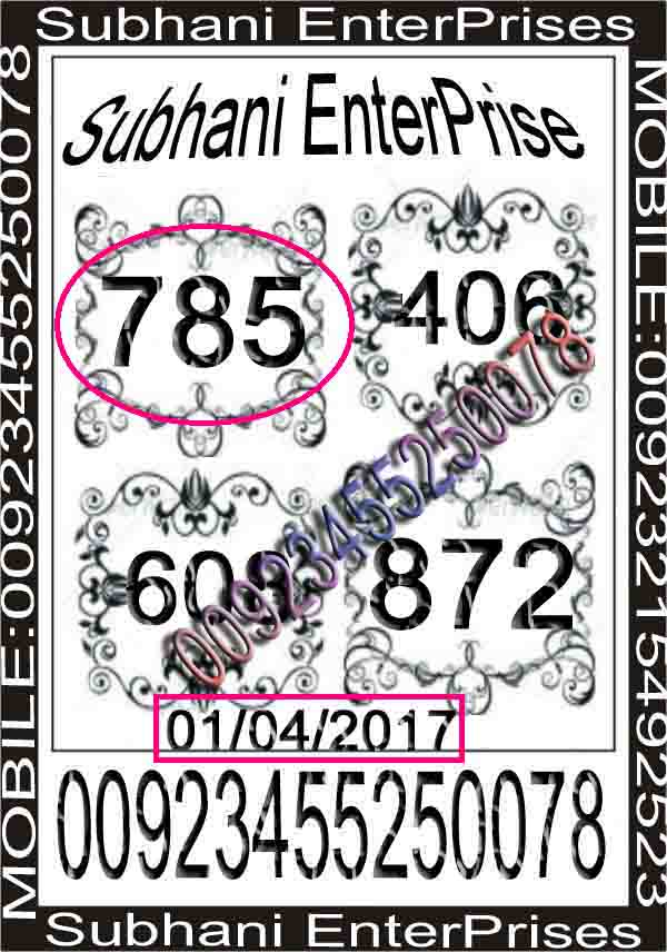 Thai Lotto VIP10258 copy